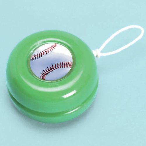 Baseball - Yo-Yo's Party Accessory (12 ct.) ()