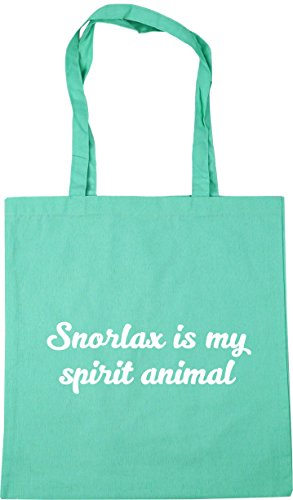 Tote 42cm spirit Gym Snorlax Shopping animal Bag Beach x38cm HippoWarehouse Mint litres my is 10 xqRvwcnw4X