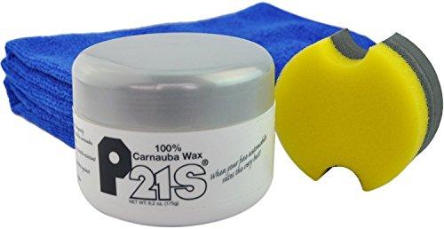 P21S 100% Carnauba Wax + 2 Microfiber (Concours Wax)