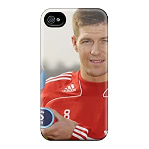 The Player Of Liverpool Steven With Another Trophy Case Compatible With Iphone 4/4s/ Hot Protection Case