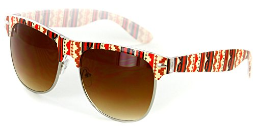 Clubmaster Sunglasses Native American Pattern product image