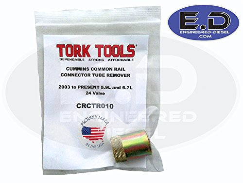 Tork Tek CRCTR010 Connector Tube (Feed Tube) Remover - for Cummins 5.9L & 6.7L 2003 - Present