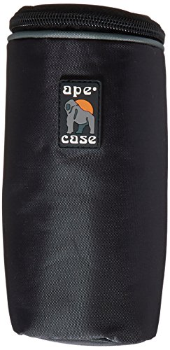 Ape Case ACLC4 Medium Pouch for Lenses (Black/Yellow)