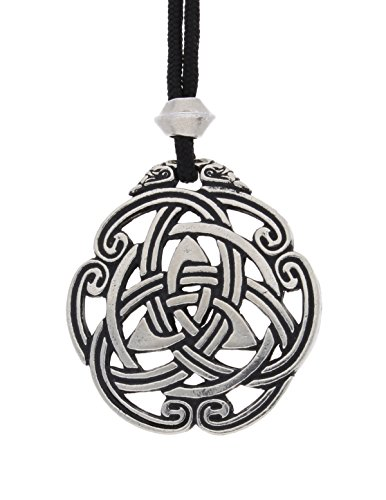 Triquetra Celtic Knot Pewter Pendant ~ Peace and - Harmony Pewter Pendant