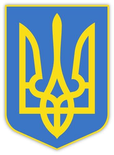 - Ukraine coat of arms sticker decal 4