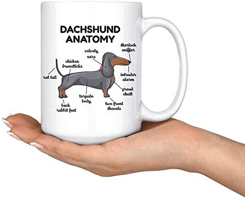Dachshund Dad Mug Funny gift for Dachshund owners /& lovers Sausage dog gifts