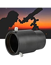 Telescope Eyepiece Extension Tube Adapter, 60mm Metal 2 inch Telescope Eyepiece Extension Tube Adapter for Astronomical Telescopes