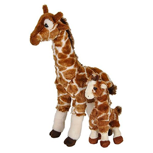Birth of Life Giraffe with Baby Plush Toy 14.5