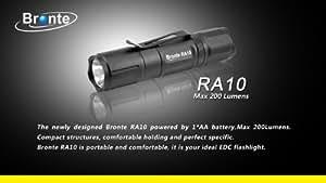 Bronte RA10 CREE XP-G R5 LED - Linterna led (máx. 130 lm)