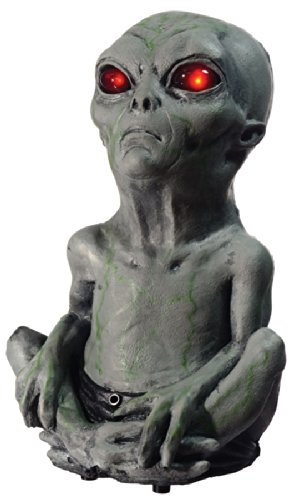 [Roswell Alien Baby Animated Halloween Prop Motion Activated Area 51] (Zombie Baby Halloween Prop)