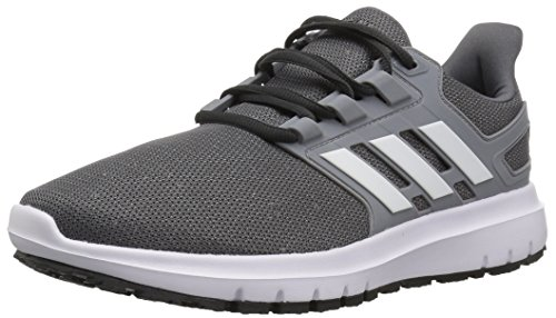 adidas Men's Energy Cloud 2 Running Shoe grey/White/Grey, 11.5 M US