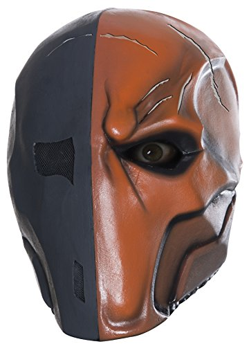 UHC Dc Comics Deathstroke Latex Evil Theme Party Halloween Costume (Deathstroke Costume For Kids)
