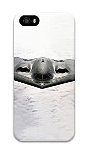 iPhone 5 5S Case B2 Stealth Bomber 3D Custom iPhone 5 5S Case Cover