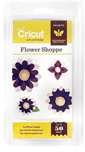 Cricut cartridge Flower Shoppe by Cricut