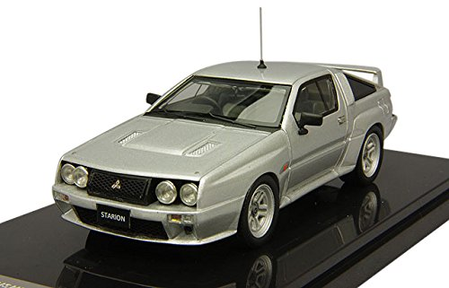 1/43 MITSUBISHI STARION 4WD RALLY Homologation Version(シルバー) W277