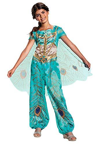 Jasmine Teal Aladdin Live Action Classic Child Girl -