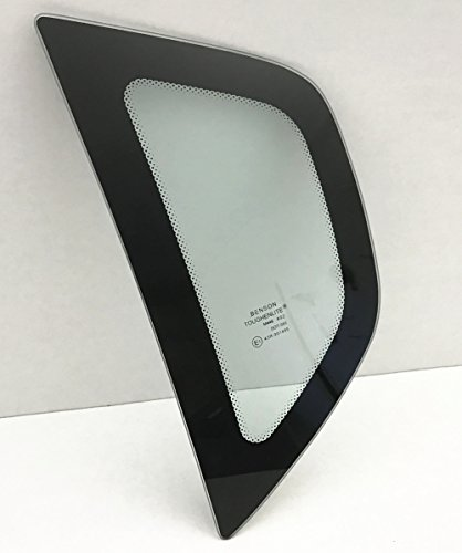 NAGD For 2009-2011 Chevrolet Aveo5 4 Door Hatchback Driver/Left Side Rear Quarter Window Replacement - Quarter Glass Chevy