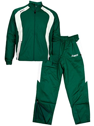 Pantaloni Warm Set Caldera Uomo Asics Forest Giacca Green E Up qY4WwEp
