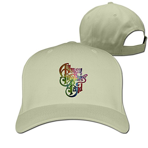 Price comparison product image The Allman Brothers Band Eat A Peach Custom Strapback Hat Adjustable Caps