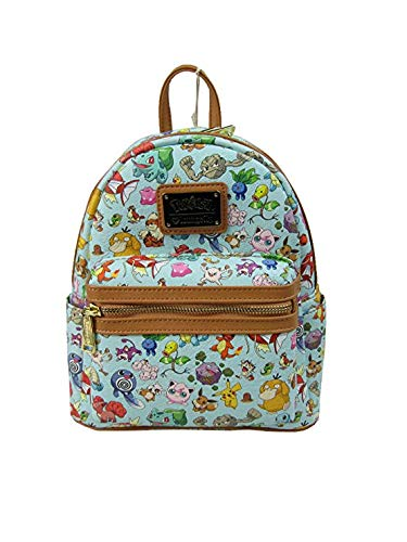 Loungefly x Pokemon All Time Fave AOP Mini Backpack (One Size 49dc9158a92b4