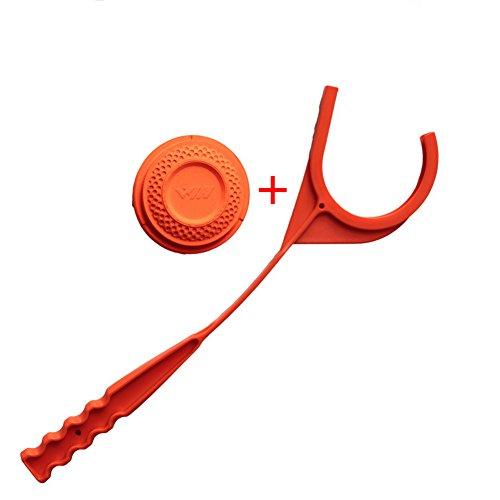 - Tutuba Manual Clay Target Thrower Hand Disc Skeet Trap Shooting Hunting Sports Set