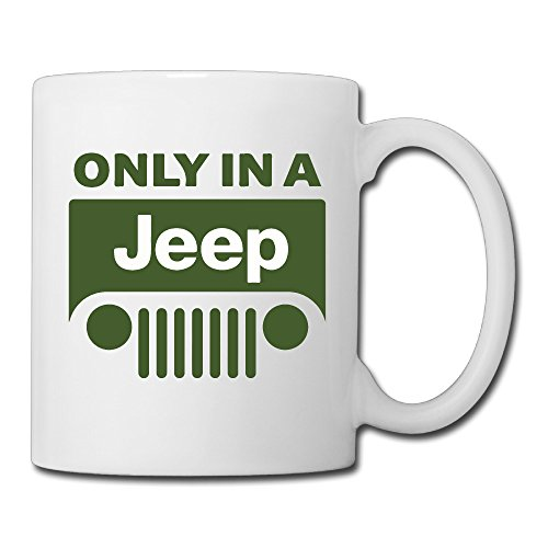 Only In A Jeep Ceramic Coffee Mug
