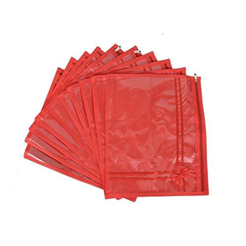 fashionatelier Saree Packing Cover Saree Bags 10 Pc