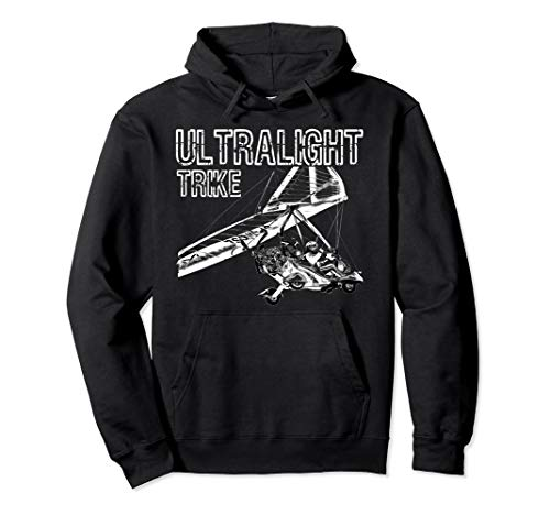 Micro Light Aircraft Ultralight Trike Pullover Hoodie