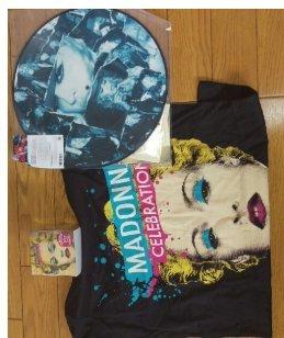 マドンナ TシャツMサイズ グッズセットの商品画像