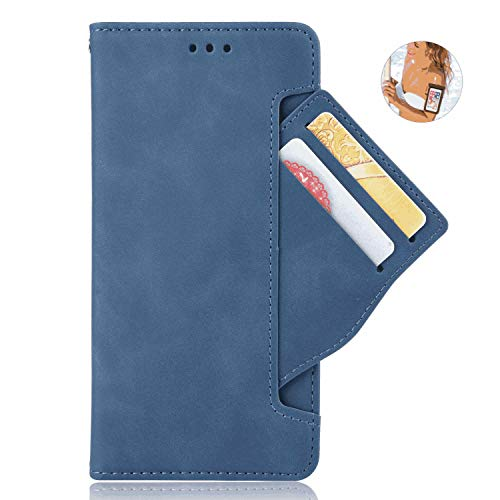 Samsung Galaxy Note 10 5G Flip Case, Cover for Samsung Galaxy Note 10 5G Leather Premium Business Kickstand Card Holders Cell Phone case with Free Waterproof-Bag Elegant