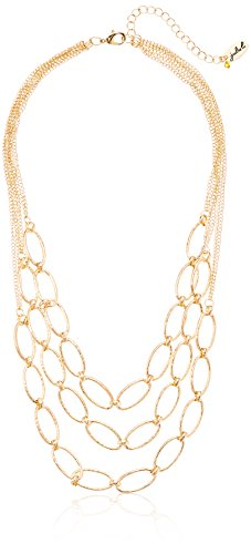 Gold Tone Strand Necklace, 20.5