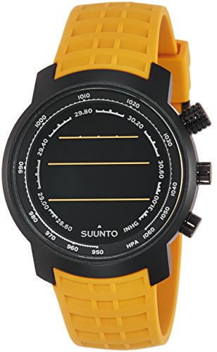 Suunto Elementum Terra Amber Rubber Strap Digital Watch with Altimeter, Barometer, Compass