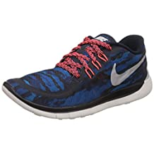 Nike Youths Free 5.0 Print Textile Trainers