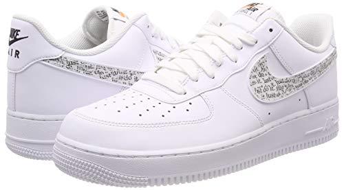 best service c38c0 13c18 Nike Air Force 1  07 Lv8 JDI Lntc, Sneakers Basses Homme  Amazon.fr   Chaussures et Sacs