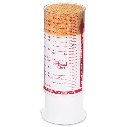 The Pampered Chef Measure All Cup #2225 PAMPERED CHEFF