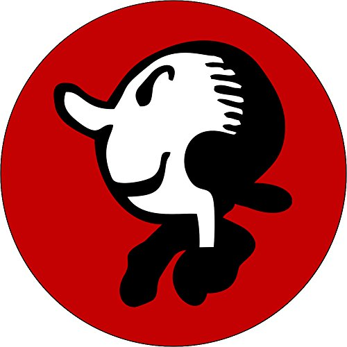 Olive Oyl from Popeye - Head Shot (In Red) - 1