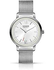 Emelia Monier W Palace Silver Tone Womens Watch with Stainless Steel Mesh Bracelet EML001-04SL