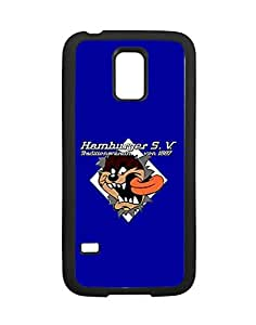 Samsung Galaxy S5 Mini (SM-G800) Fundas Case Hamburger Sportverein FC HSV Hamburger SV Logo, Creative Team Logo Case Fundas for Galaxy S5 Mini Schwarz Phone Case Anti-drop for Women