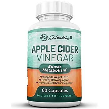 Amazon.com: 100% Pure Apple Cider Vinegar Capsules with