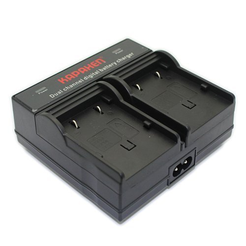 Kapaxen Dual Channel Battery Charger for JVC BN-VF707U BN...