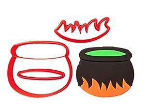 Cauldron Cookie Cutter Set (5.5 inches)