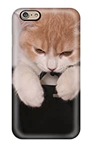 MwbqNih717TAcKF Mary David Proctor Awesome Case Cover Compatible With Iphone 6 - Cat In Gift Bags