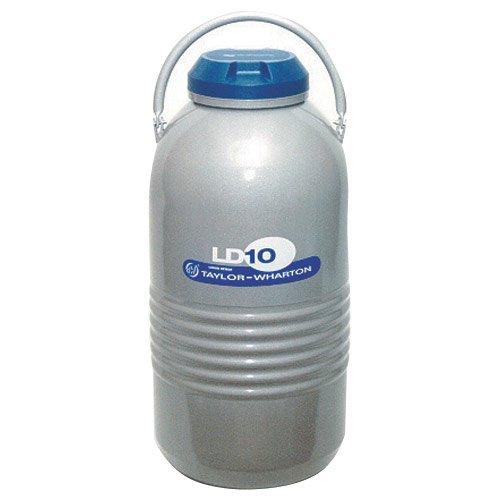 Taylor Wharton LD10 Aluminum Liquid Dewar, 2.64 gal by Taylor Wharton