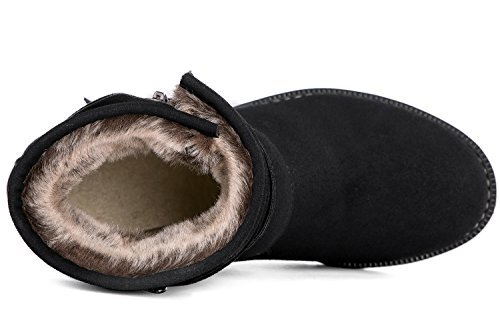 Global Win Womens Globalwin Womens Winter Fasion Boots 16black