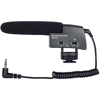 Sennheiser MKE 400 Shotgun Microphone - Black, MKE 400 Microphone