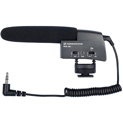 hotgun Microphone - Black (Sennheiser Stereo Mic)