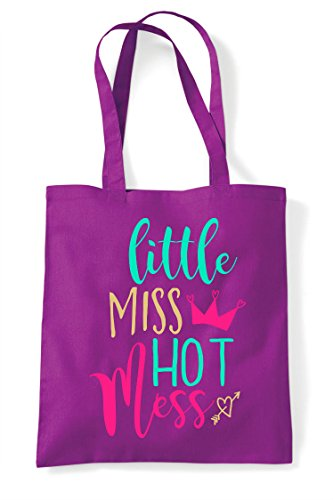 Hot Tote Bag Little Mess Magenta Statement Miss Shopper 86Ox5IHqPw