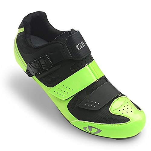 Giro Solara II Womens Road Cycling Shoes Highlight Yellow/Black 40