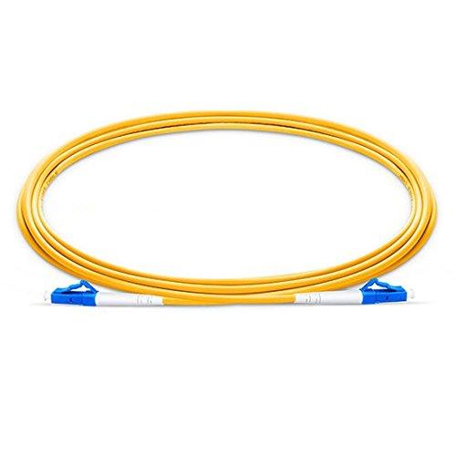 100pcs/bag 3m (9.84ft) LC UPC to LC UPC Simplex 2.0mm LSZH Single Mode Fiber Patch Cable