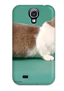 Crystle Marion's Shop New Style Tpu S4 Protective Case Cover/ Galaxy Case - Munchkin Cats 9543880K10712346